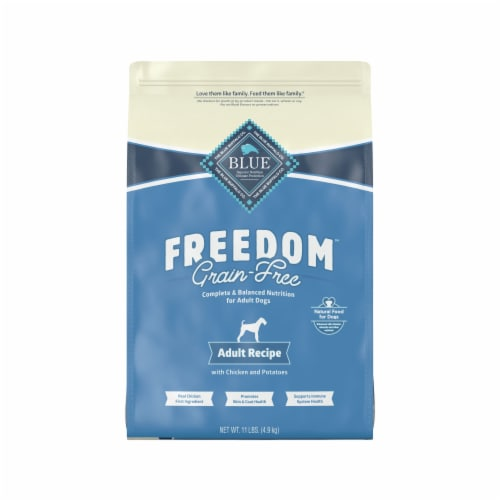Blue Buffalo Freedom Grain-Free Chicken Adult Recipe Dog Food Perspective: front