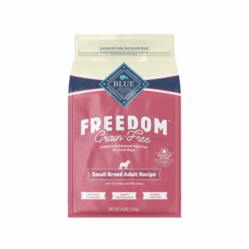 Blue Buffalo Freedom Small Breed Recipe Dog Food Perspective: front
