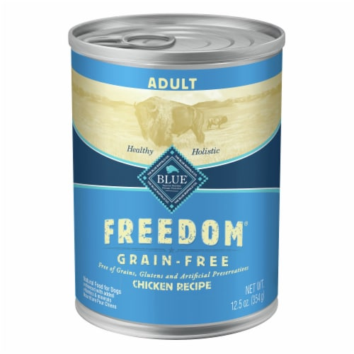 Blue Buffalo Freedom Grain-Free Chicken Recipe Dog Food Perspective: front