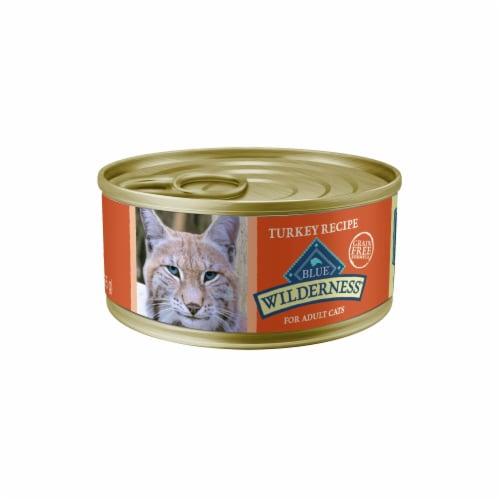 Blue Wilderness Turkey Recipe Adult Wet Cat Food Perspective: front
