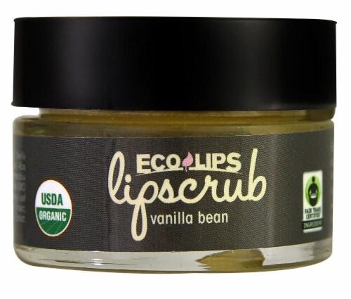 Eco Lips  Lipscrub   Vanilla Bean Perspective: front