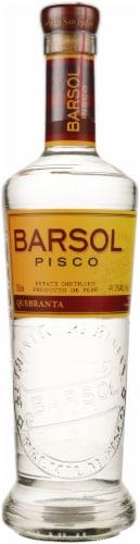 Barsol Pisco Brandy Perspective: front