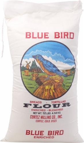 Blue Bird Flour Perspective: front