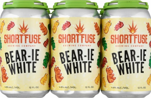 Shrt Fuse Bear-Ie Wh Can Perspective: front