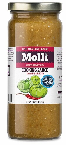 Molli  Mexico Cooking Sauce Perspective: front