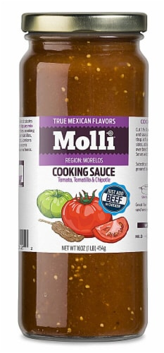 Molli  Morelos Cooking Sauce Perspective: front