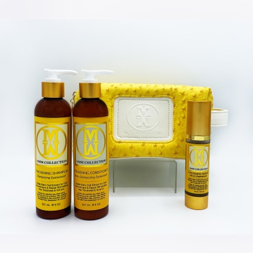 4pc Natural Hair Thickening & Rejuvenating Set Perspective: front