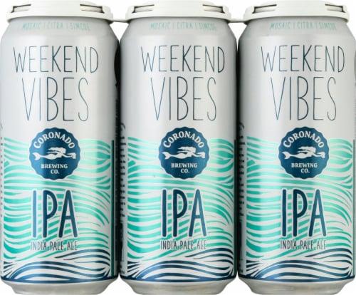 Coronado Weekend Vibes IPA Perspective: front