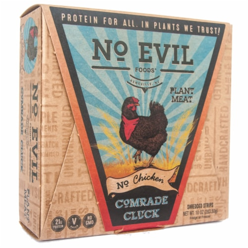 No Evil Foods Comrade Cluck No Chicken Plant Meat Perspective: front