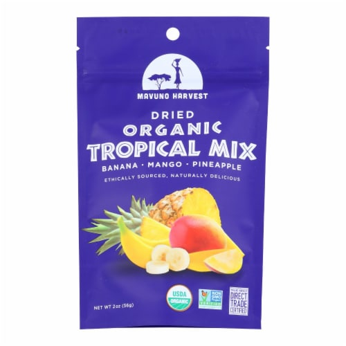 Mavuno Harvest Dried Tropical Mix Perspective: front