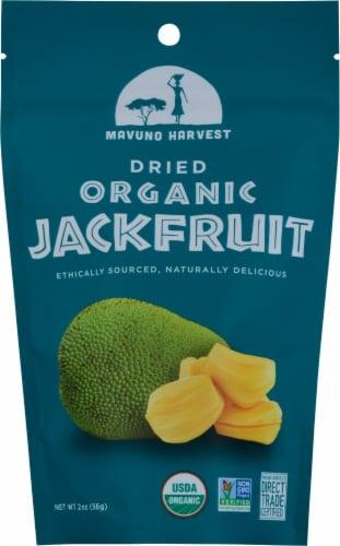 Mavuno Harvest Dried Jackfruit Perspective: front