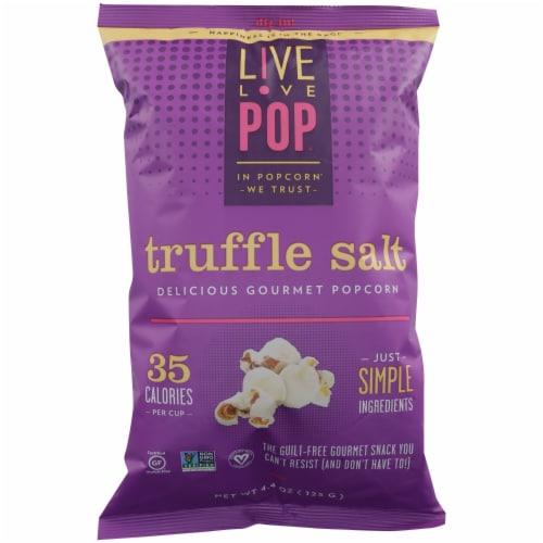 Live Love Pop Truffle Salt Popcorn Perspective: front