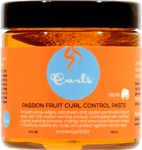 Curls Passion Fruit Curl Control Paste Perspective: front