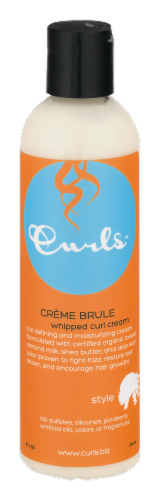 Curls Creme Brule whipped Curl Cream Perspective: front