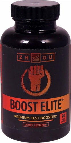 Zhou Boost Elite Veggie Capsules Perspective: front