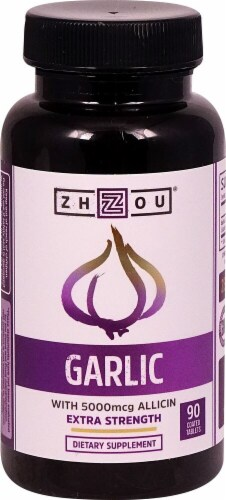 Zhou  Garlic Extra Strength Perspective: front