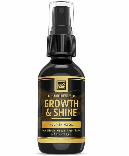 Zhou Hairfluence Growth & Shine Nourishing Hair Oil Perspective: front