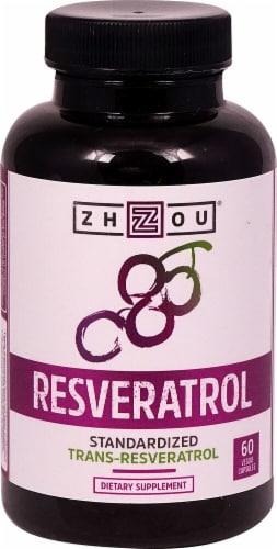 Fry S Food Stores Zhou Resveratrol 60 Veggie Capsules