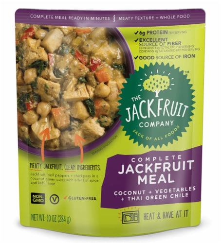 The Jackfruit Company Complete Thai Green Chile Jackfruit Meal Perspective: front