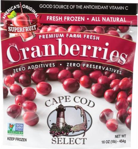 Cape Cod Select Frozen Cranberries Perspective: front
