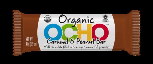 OHCO Organic Caramel & Peanut Bar Perspective: front