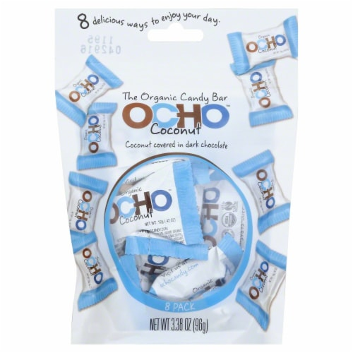 Ocho Organic Coconut Pouch Perspective: front