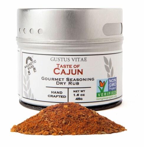Gustus Vitae Taste of Cajun Gourmet Seasoning Perspective: front