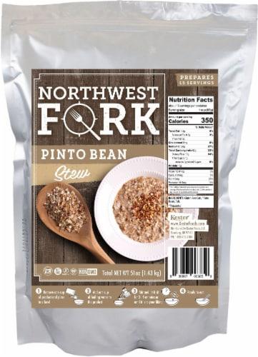 NorthWest Fork Pinto Bean Stew (Gluten-Free, Non-GMO, Kosher, Vegan) Perspective: front