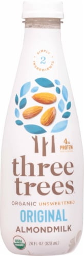 Three Trees Organic Original Almondmilk Perspective: front