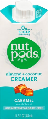 Nutpods Caramel Almond + Coconut Creamer Perspective: front