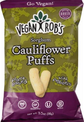 Vegan Rob's Probiotic Cauliflower Puffs Perspective: front