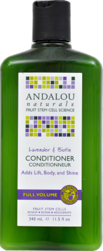Andalou Naturals Lavender Biotin Volumizing Conditioner Perspective: front