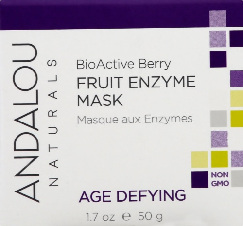Andalou Naturals BioActive 8 Berry Enzyme Mask Perspective: front
