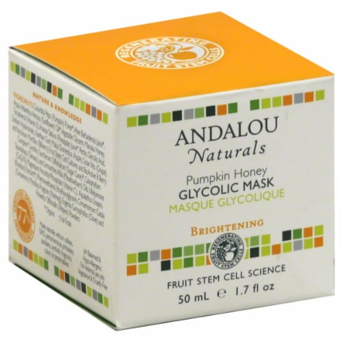 Andalou Naturals Pumpkin Honey Glycolic Mask Perspective: front