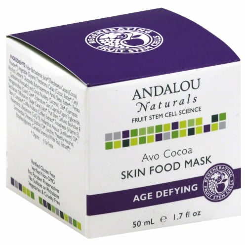 Andalou Naturals Avo Cocoa Skin Food Mask Perspective: front