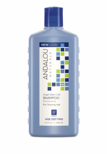 Andalou Naturals Argan Stem Cell Age Defying Treatment Shampoo Perspective: front