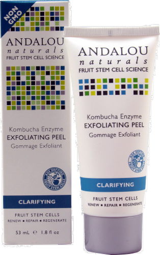 Andalou Naturals Kombucha Enzyme Peel Perspective: front