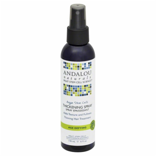 Andalou Naturals Argan Thickening Spray Perspective: front
