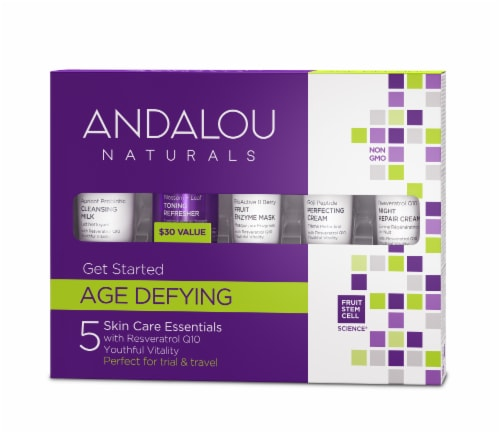 Andalou Naturals Get Started Age Defyng 5 Pack Perspective: front