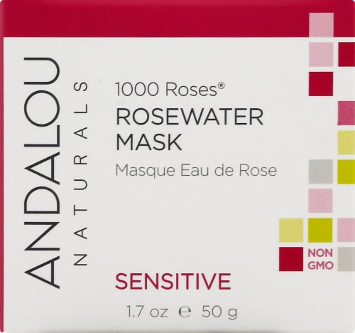 Andalou Naturals 1000 Roses Rosewater Mask Perspective: front
