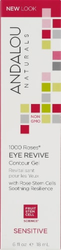 Andalou Naturals 1000 Roses Eye Revive Contour Gel Perspective: front