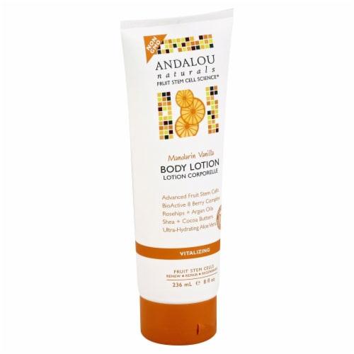 Andalou Naturals Mandarin Vanilla Vitalizing Body Lotion Perspective: front
