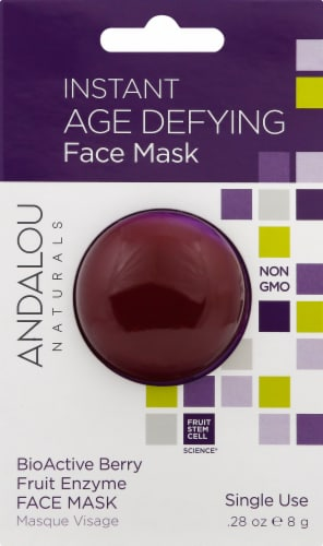 Andalou Naturals Instant Age Defying Facial Mask Perspective: front