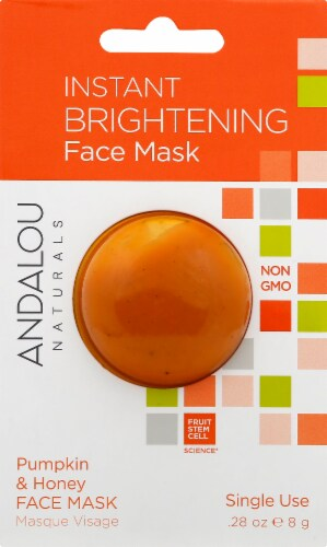 Andalou Naturals Instant Brightening Face Mask Perspective: front