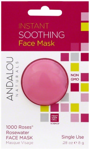 Andalou Naturals 1000 Roses Rosewater Face Mask Perspective: front