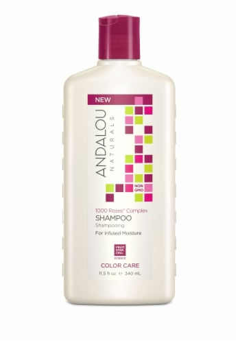 Andalou Naturals Color Care Shampoo Perspective: front