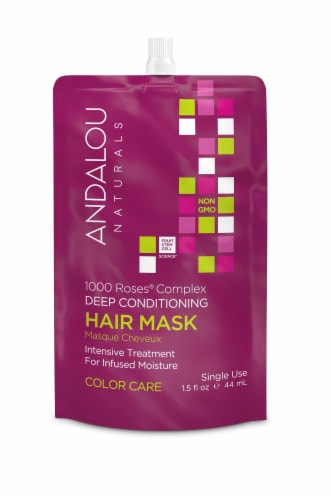 Andalou Naturals Color Care Deep Conditioning Hair Mask Perspective: front