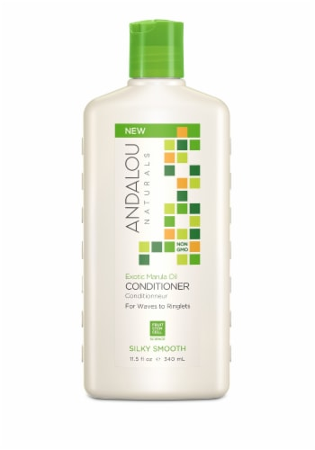 Andalou Naturals Exotic Marula Oil Silky Smooth Conditioner Perspective: front