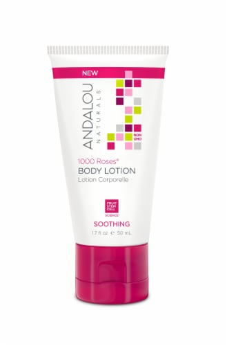 Andalou Naturals 1000 Roses Soothing Body Lotion Perspective: front