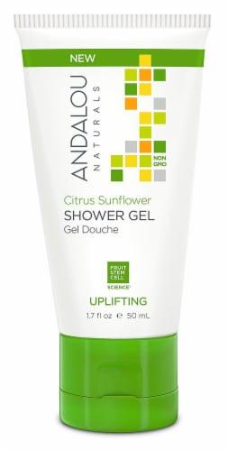 Andalou Naturals  Uplifting Shower Gel Citrus Sunflower Perspective: front